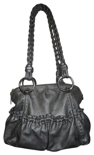 B. Makowsky Tote in pewter