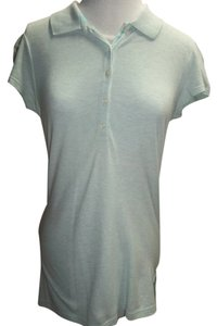 Gap Cap Sleeve T Shirt Light Heather Mint