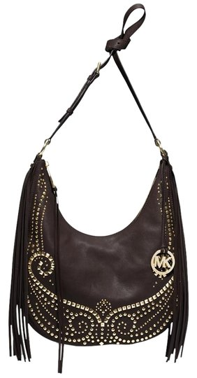 Preload https://item1.tradesy.com/images/michael-by-michael-kors-rhea-cross-body-bag-dark-chocolate-3090280-0-0.jpg?width=440&height=440