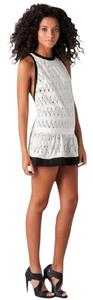 L.A.M.B. short dress Eyelet Lamb Zigzag on Tradesy