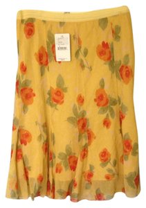 Free People Skirt Yellow