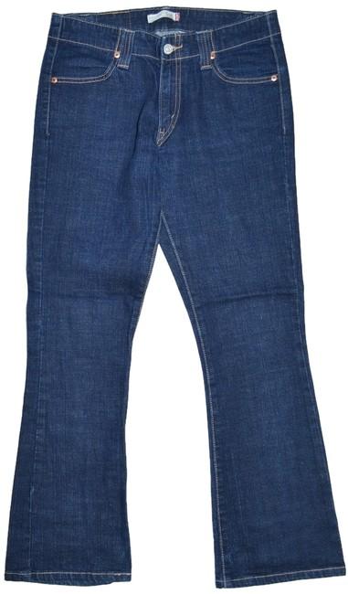 Preload https://item2.tradesy.com/images/levi-s-blue-boot-cut-jeans-size-30-6-m-3090661-0-0.jpg?width=400&height=650