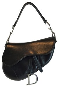 Dior Leather Saddle Christian Shoulder Bag
