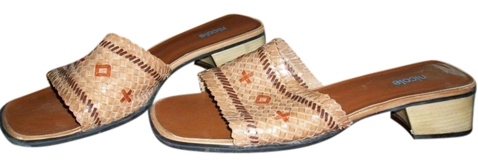 ladies Nicole Tan Tan Tan Mules/Slides Clever and practical e949c0