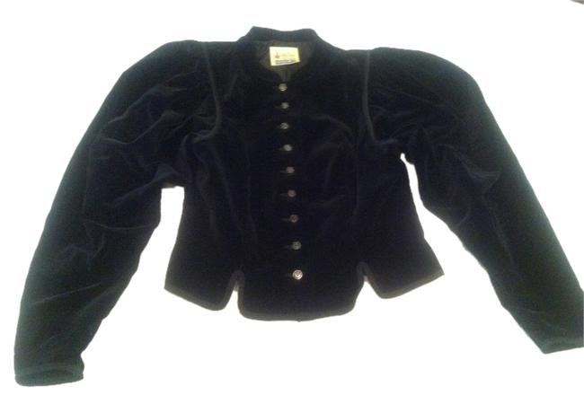 Vintage ISOLA Trachten Couture Original black Jacket
