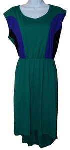Miss Tina short dress Green on Tradesy