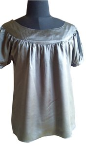 Sanctuary Clothing Top grey silk