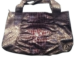 Other Tote in brown crocodile