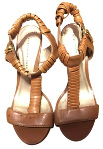 Charlotte Russe Taupe Sandals