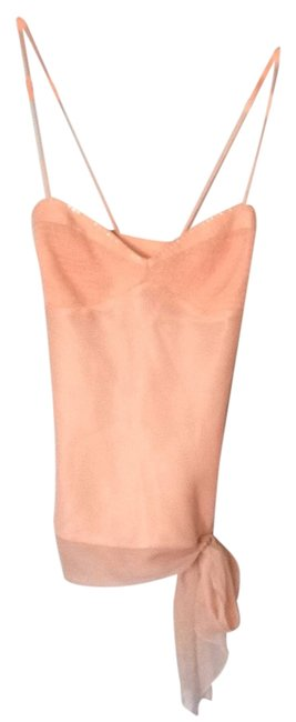 Preload https://item2.tradesy.com/images/laundry-by-shelli-segal-peach-t6986-night-out-top-size-8-m-3092491-0-0.jpg?width=400&height=650