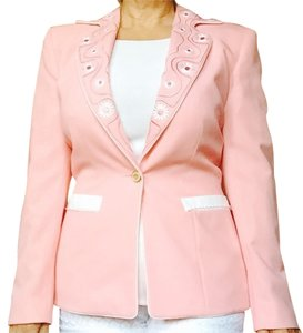 Escada Creamy Peach And White Jacket