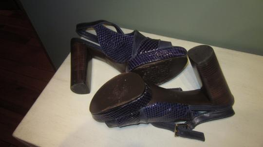Tory Burch Purple and blue Sandals