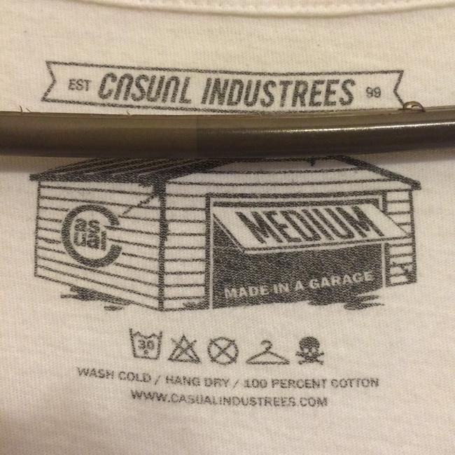 casual industrees T Shirt white