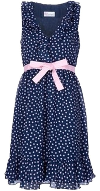 Preload https://item2.tradesy.com/images/red-valentino-blue-and-pink-10144245-mid-length-short-casual-dress-size-4-s-3093121-0-0.jpg?width=400&height=650