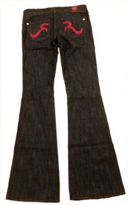 Rock & Republic Boot Cut Jeans-Dark Rinse
