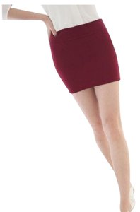 Other Brand New W/o Tag Mini Mini Skirt Red Wine