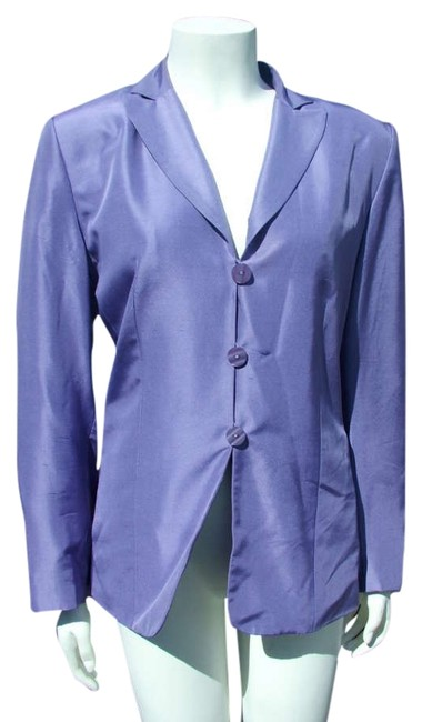 Preload https://item2.tradesy.com/images/travis-ayers-violet-classic-silk-perfect-for-spring-blazer-size-10-m-309391-0-0.jpg?width=400&height=650