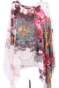 Very Chiffon Top Floral