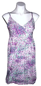 Old Navy short dress Purple Polka Dot on Tradesy