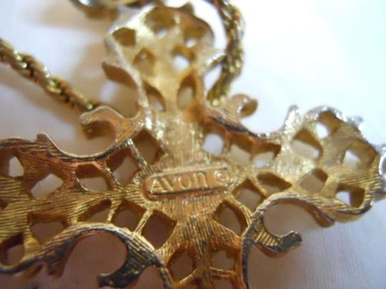 Avon Vintage Avon Abbey cross necklace