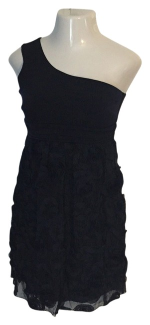 Valerie Bertinelli One Floral Ruffle Night Town Dress
