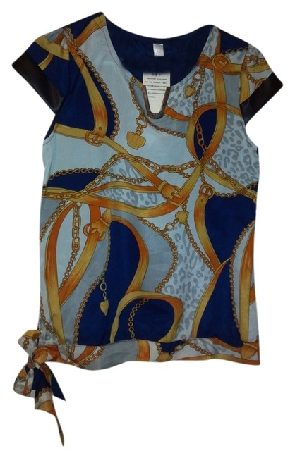 Ximci Pattern Glamour Luxe Top Multi