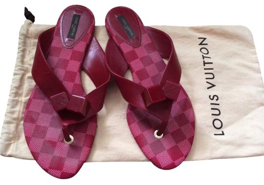 Preload https://item5.tradesy.com/images/louis-vuitton-red-sandals-3094789-0-0.jpg?width=440&height=440