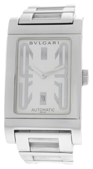 BVLGARI Bvlgari Bulgari Rettangolo RT45S Steel Date Automatic Watch