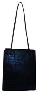 Via Piaggi Crocodile Alligator Shoulder Bag