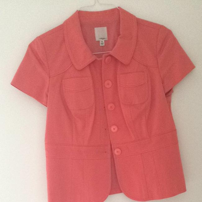 Preload https://item3.tradesy.com/images/halogen-coral-button-down-top-size-8-m-3095797-0-0.jpg?width=400&height=650