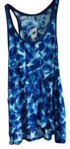 Gap Special Edition Nwt New With Tags Tie Dye Top Tie Dye/Cobalt