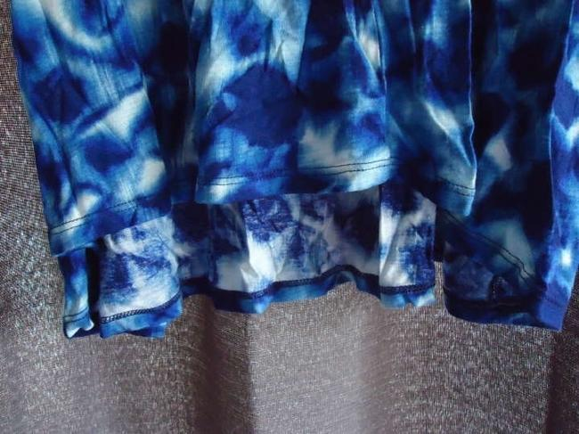 Gap Special Edition New With Tags Top Tie Dye/Cobalt