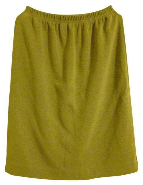 Preload https://img-static.tradesy.com/item/309598/chaus-sage-green-knee-length-skirt-size-12-l-32-33-0-0-650-650.jpg