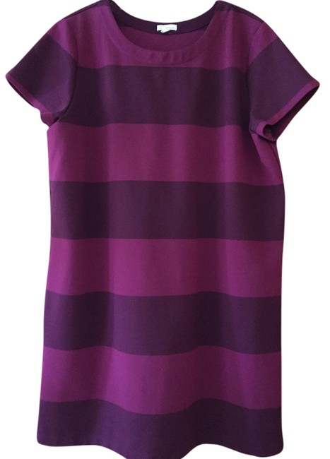 Gap short dress Orchid/Purple Hot Orchid Trendy Stripes Summer-perfect on Tradesy