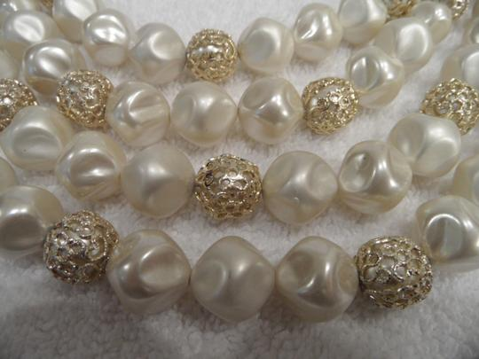 Other Four Strand Baroque Pearl Necklace