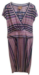 Tory Burch short dress Navy / Magenta Short Sleeves on Tradesy