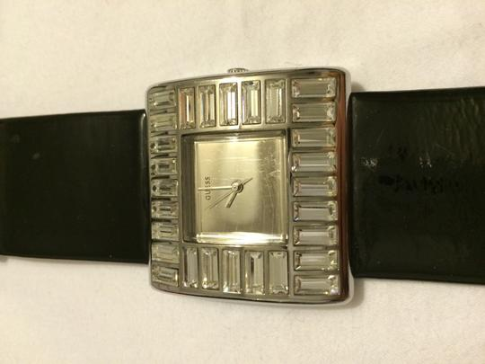 Guess Black Patent Leather GUESS watch