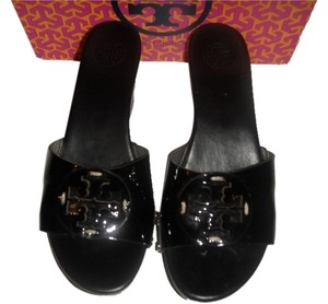 a68f8bc64 Black Tory Burch Mules   Clogs - Up to 90% off at Tradesy