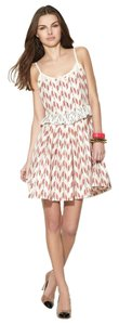 Marc Jacobs short dress Red Multi Printed Silk on Tradesy