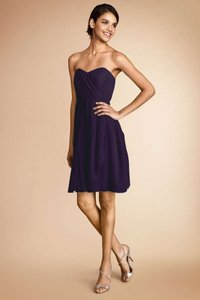 Donna Morgan Amethyst Shell: Polyester Lining: Acetate Blaire Feminine Bridesmaid/Mob Dress Size 6 (S)