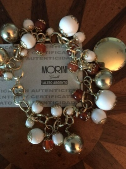 Morini Vintage Style Charm Bracelet From Italy