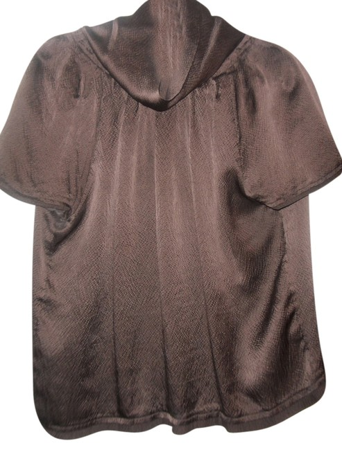 BCBGMAXAZRIA Top Brown