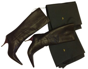 Fendi Slip-0n Knee dark grey Boots