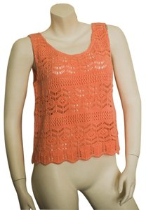 Cotton Emporium Nordstrom Top salmon/coral/pink
