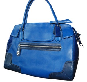 Coach Satchel in Royal Blue