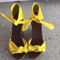 Sigerson Morrison Yellow Wedges Size US 7 Regular (M, B) Sigerson Morrison Yellow Wedges Size US 7 Regular (M, B) Image 2