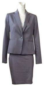 Ann Taylor Ann Taylor Gray Pin-striped Suit