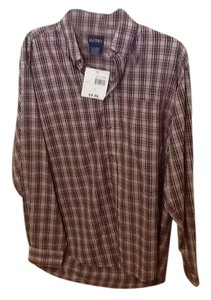 Puritan Button Down Shirt Plaid