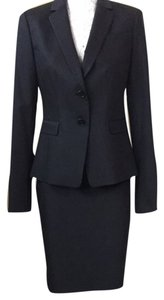 Ann Taylor Ann Taylor Navy Pin-striped Suit