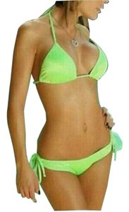 Other 2 Piece Fluorescent Green Bathing Suit